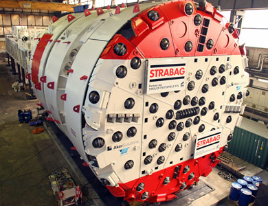 First of two Aker Wirth TBMs for Koralm tunnel drives