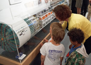 The Milepost 31 project visitors' center has attracted great interest from Seattle citizens