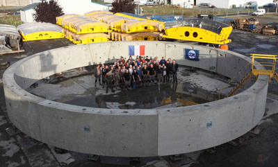 CBE supplied segment moulds for world record tunnel in Seattle
