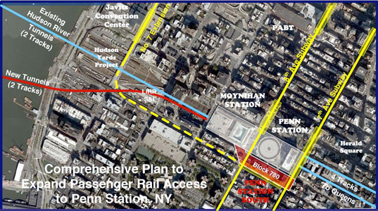 Proposed Penn Station expansion
