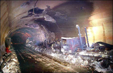 Consequences of the Mont Blanc tunnel fire (1999)