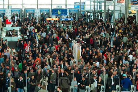 Bauma 2013 is expected to draw more than 500,000 visitors