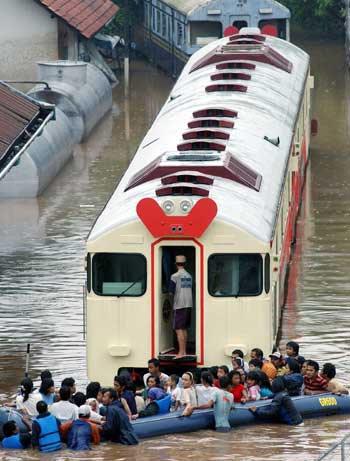 Jakarta is crippled by regular flooding