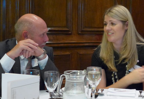 Remembering the start in 2008 - then BTS Chairman Paul Hoyland and founder BTSYM Chairwoman Kate Cooksey