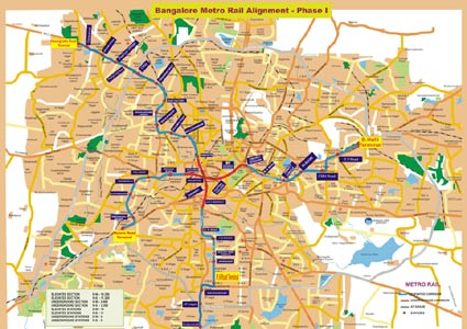 Contract UG2 is the east-west line of the Bangalore Metro