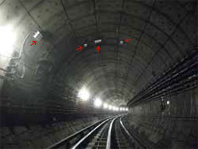New sensors monitoring the London Underground