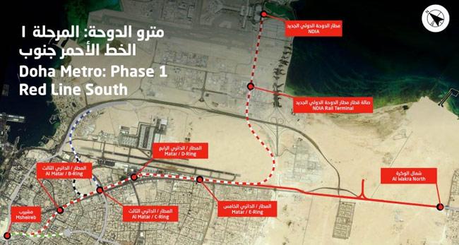 Red Line South (Qatar Diar/Vinci - 5 x TBM)