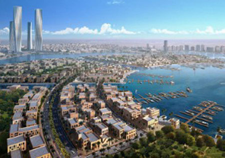 Red Line will connect the new city of Lusail to Doha