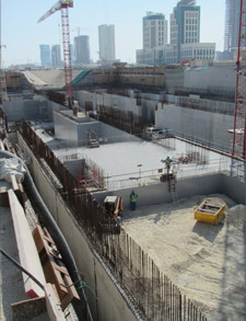 Lusail Marina 4 cut-and-cover station