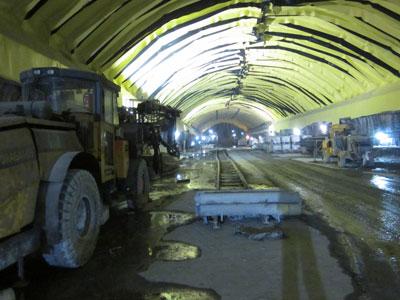 Eastbound cavern waterproofing