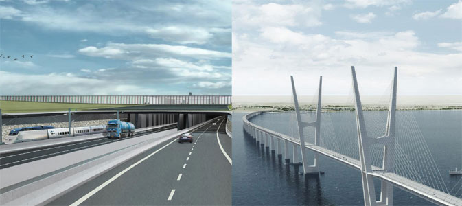 Bridge or tunnel? Tunnel or bridge? The comparisons are completed and the tunnel is recommended