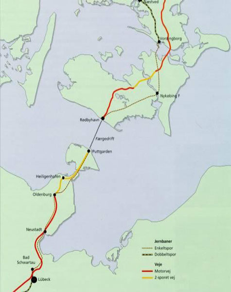 Fehmarn link alignment