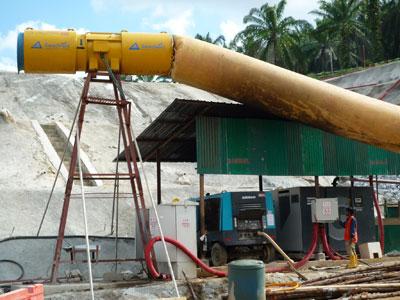 Portal vent station installation in Vietnam