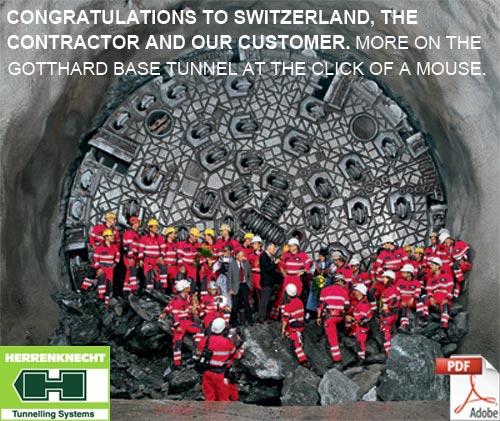Gotthard TBM Snapshot