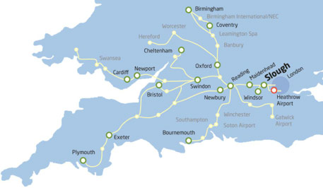 Main rail routes into London