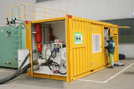 Herrenknecht HDD unit incorporating Schäfer & Urbach mud-pumping expertise