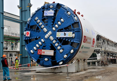 Herrenknecht has 8 TBMs on Chennai metro