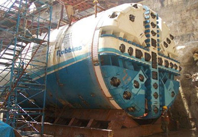 Robbins TBM nearing launch on Chennai metro