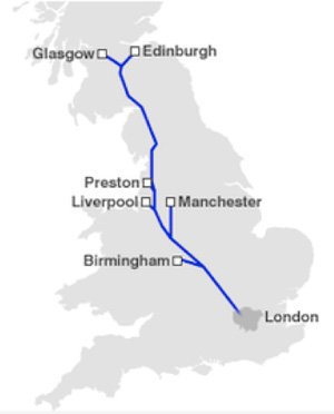 HS2 proposed routes