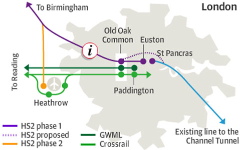 HS2 features a redesigned Euston Station as its central hub