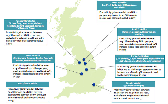 KPMG reports spells out economic benefits of HS2 project
