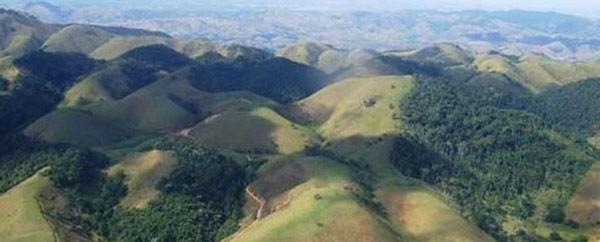 Sierra des Araras mountains east of Rio de Janeiro