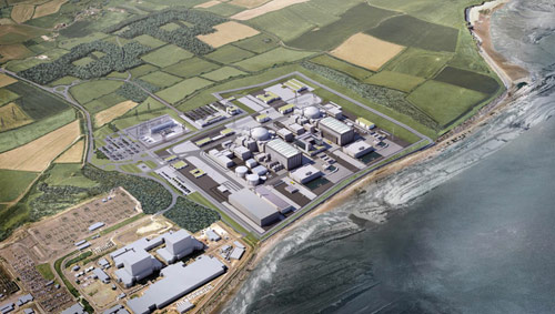 New nuclear plant will have two pressurised water reactors