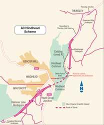 Hindhead map