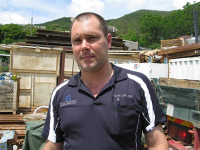 Macmahon Project Manager Hayden Clarke