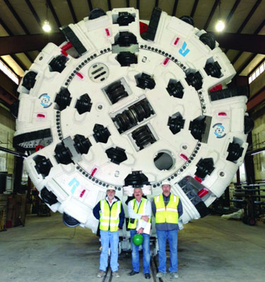 Main beam Robbins TBM tor DRTC Project