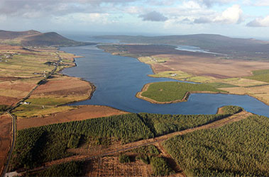 Sruwaddacon Bay in northwest Ireland