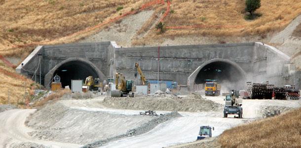Astaldi-built tunnel portals in Catanzaro