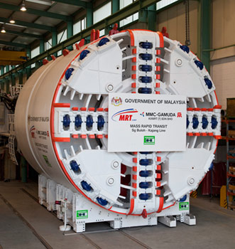 World's first VD-TBM ready for shipment to Malaysia