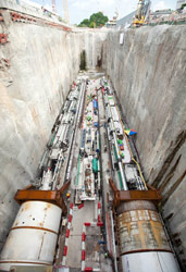 Launch of first two VDM TBMs