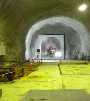 NATM final lining operation