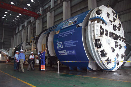 Three 5.2m diameter High Performance TBMs are completing the longest headings under the highest overburden