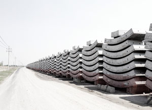 Modern sculpture: Segment stacks