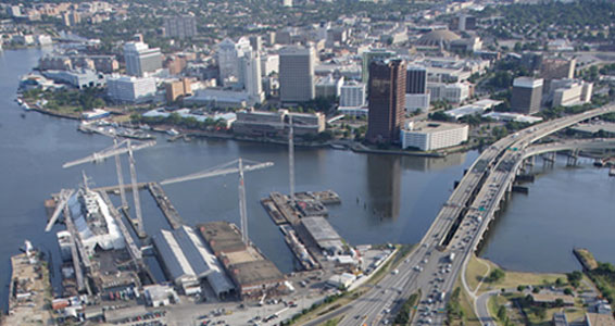 The Elizabeth River