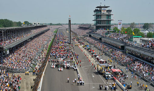 Indianapolis: home of the world famous Indy 500 race