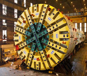 NFM mega TBM ready for dispatch in 2013