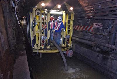 Pump train on 14<sup>th</sup> St Tunnel