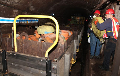 53<sup>rd</sup> St tunnel clean up