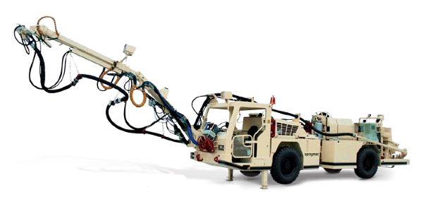 Normet's Spraymc SF 050 range of mobile concrete sprayers