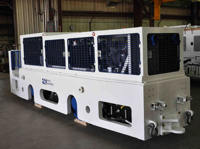 New line of diesel locos come with gauge changing system for project portability