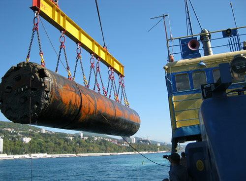 Special rescue module allowed TBM extraction at sea