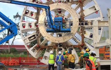 9.77m diameter cutterhead