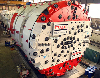 First 9.93m Aker Wirth TBM for Koralm rail tunnel
