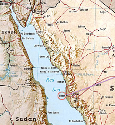 Mountain approach to Jeddah requires 28km of tunnels