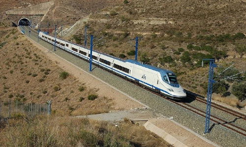 Landbridge connects to west coast Haramain high speed rail line