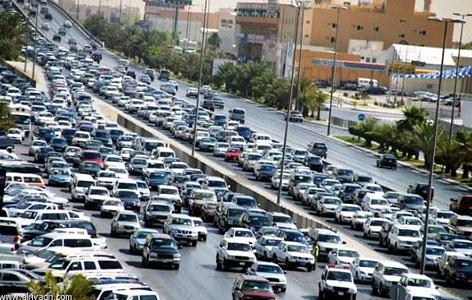 Riyadh suffers chronic traffic congestion